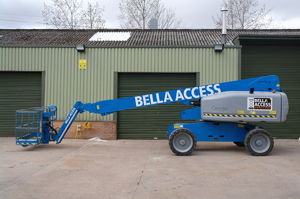 GS65 Diesel Booms Straight Stick from Bella Access