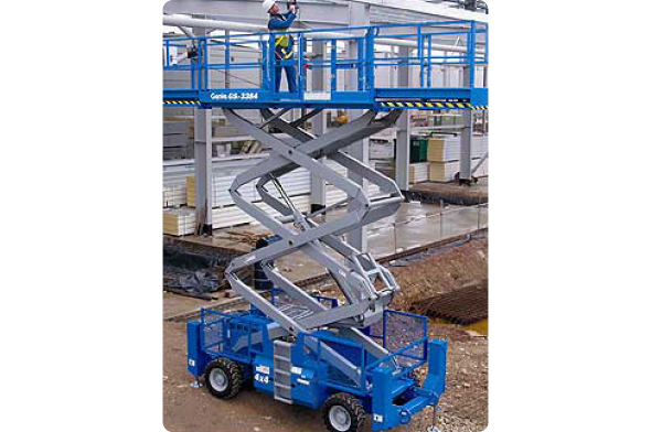 Genie 3384 Diesel Scissor Lifts from Bella Access