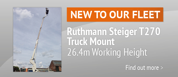 New To Our Fleet - Ruthmann Steiger T270 Truck Mount
