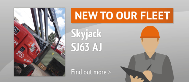 New To Our Fleet - Skyjack SJ63